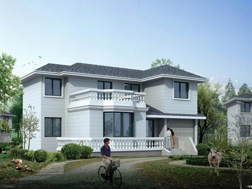 陽光格調輕鋼別墅更具發展的黃金產業